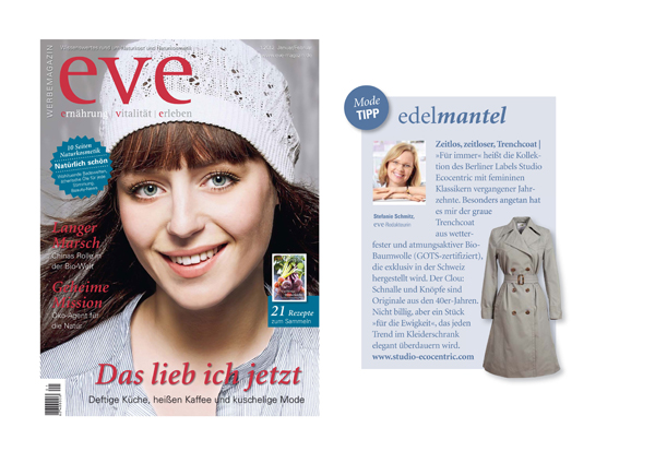 Trenchcoat Eve Magazin
